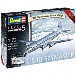 Plastic ModelKit letadlo Limited Edition 03910 - C-54D Skymaster 70th Anniversary Berlin Airlift