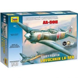 Model Kit letadlo 4801 - La-5 FN Soviet Fighter