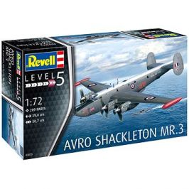 Plastic ModelKit letadlo 03873 - Avro Shackleton Mk.3