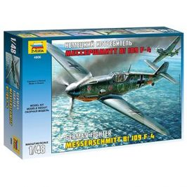 Model Kit letadlo 4806 - Messerschmitt Bf-109 F4