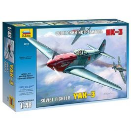 Model Kit letadlo 4814 - YAK-3 Soviet WWII Fighter
