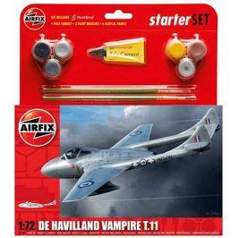 Starter Set letadlo A55204 - De Havilland Vampire T11