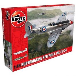 Classic Kit letadlo A06101A - Supermarine Spitfire F.Mk22/24