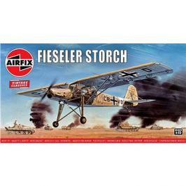 Classic Kit VINTAGE letadlo A01047V - Fiesler Storch