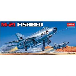 Model Kit letadlo 12442 - M-21 FISHBED