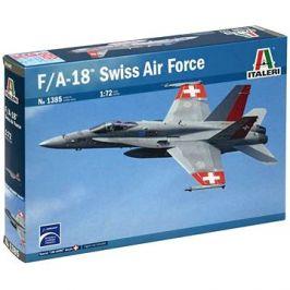 Model Kit letadlo 1385 - F/A 18 Swiss Air Force
