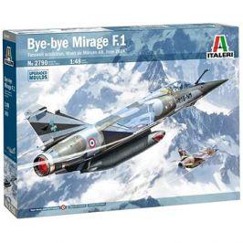 Model Kit letadlo 2790 - Bye-Bye Mirage F1