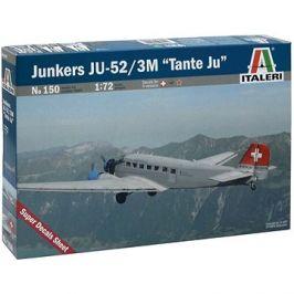 Model Kit letadlo 0150 - Junkers Ju-52 3/M