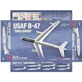 Model Kit letadlo 12618 - USAF B-47