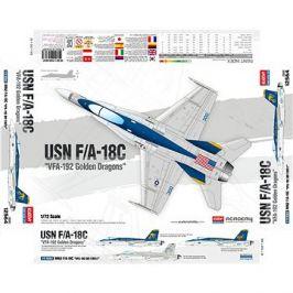 Model Kit letadlo 12564 - USN F/A-18C