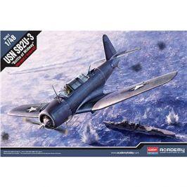Model Kit letadlo 12324 - SB2U-3