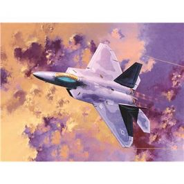 Model Kit letadlo 12423 - F-22A Air Dominance Fighter