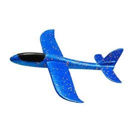 FOXGLIDER dětské házecí letadlo - házedlo modré 48cm