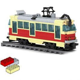 Rappa kompatibilní stavebnice - tramvaj 381 dílů