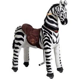 Mechanická jezdící zebra Ponnie Dixi M
