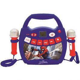 Lexibook Spider-Man Přenosný hudební přehrávač s 2 mikrofony a světly