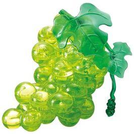 HCM Kinzel 3D Crystal puzzle Hroznové víno zelené 46 dílků
