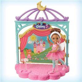 Barbie chelsea baletka herní set