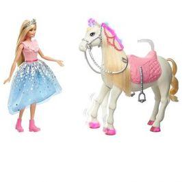 Barbie princess adventure princezna a kůň se světly a zvuky