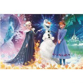 Trefl Puzzle Ledové království: Vánoce s Olafem MAXI 24 dílků
