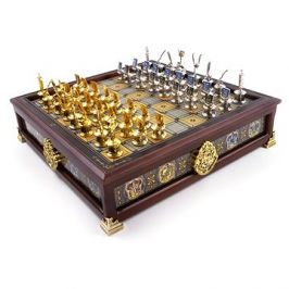 Harry Potter - Hogwarts Houses Quidditch Chess Set - šachy