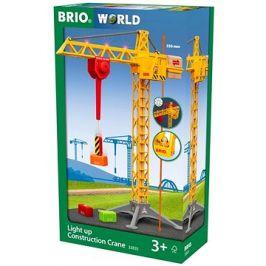 Brio World 33835 Svítící stavební jeřáb
