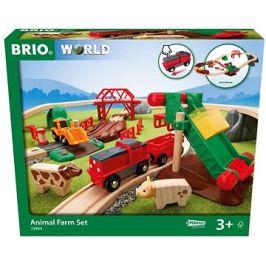 Brio World 33984 Hrací set zvířecí farma