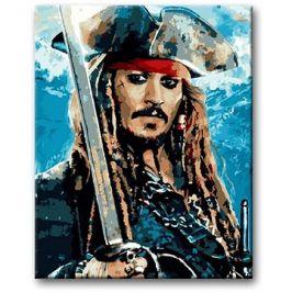Malování podle čísel - Jack Sparrow II