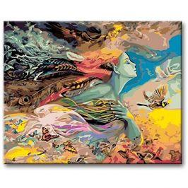 Malování podle čísel - Matka příroda