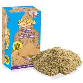 Kinetický / měsíční písek – náhradní sada 800g - přírodní barva