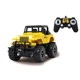 Jamara Jeep Wrangler Rubicon 1:18 2,4G žlutý