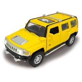 Jamara Street Kings Hummer H3 1:32 Diecast žlutý