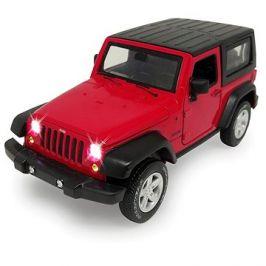 Jamara Street Kings Jeep Wrangler Diecast 1:32 červený