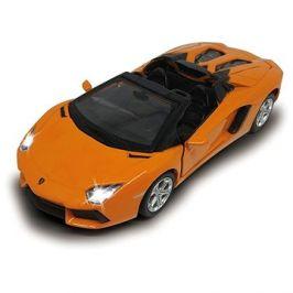 Jamara Street Kings Lamborghini Aventador LP700-4 Roadster Diecast 1:32 oranžové