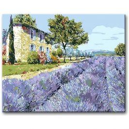 Malování podle čísel - Levandulové pole