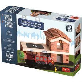 Trefl Brick Trick Hasičská stanice