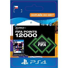 FIFA 21 ULTIMATE TEAM 12000 POINTS - PS4 CZ Digital
