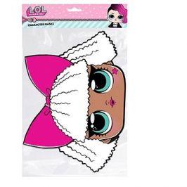 Papírová maska - LOL diva