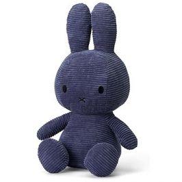 Miffy Sitting Corduroy Blue 50cm