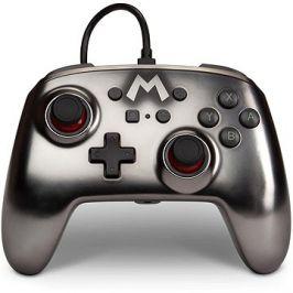 PowerA Enhanced Wired Controller - Mario Metallic - Nintendo Switch