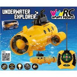Velká ponorka Explorer s osvětlením 40 Mhz dosah 12m
