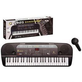 Elektronické klávesy 54 kláves černé