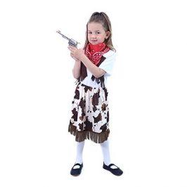 Rappa dětský kostým kovbojka se šátkem (S)