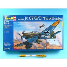 Plastic ModelKit letadlo 04692 - Junkers Ju87 G/D Tank Buster