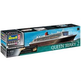 Plastic ModelKit loď Limited Edition 05199 - Queen Mary 2 (Platinum Edition)