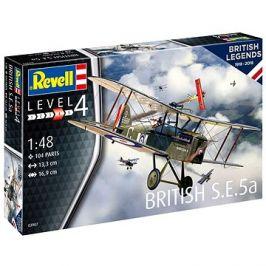Plastic ModelKit letadlo 03907 - 100 Years RAF: British S.E. 5a