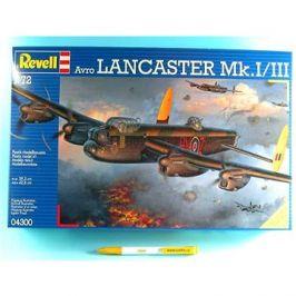 Plastic ModelKit letadlo 04300 - Avro Lancaster Mk.I/III