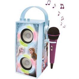 Lexibook Frozen Přenosný Bluetooth reproduktor s mikrofonem a světelnými efekty