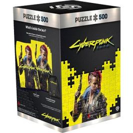 Cyberpunk 2077: Keyart Female V - Good Loot Puzzle