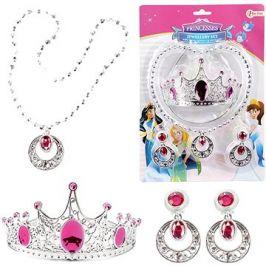 Sada krásy - korunka,náhrdelník, naušnice na kartě